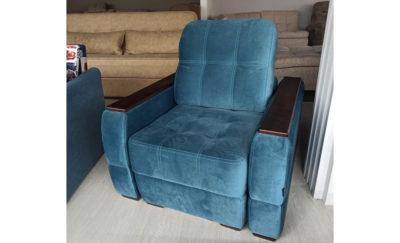кресло мини бест дисконт синее